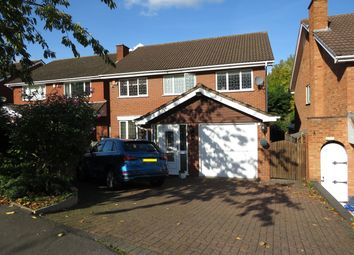 Thumbnail 4 bed detached house to rent in Kingsleigh Drive, Castle Bromwich, Birmingham