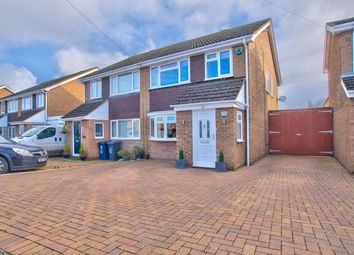 Thumbnail 3 bed semi-detached house for sale in Brook Road, Eaton Ford, St. Neots