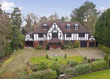 Thumbnail 6 bed detached house to rent in Silverdale Avenue, Ashley Park, Walton On Thames, Surrey