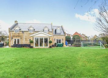 Thumbnail 5 bed detached house for sale in Proby Close, Yaxley, Peterborough