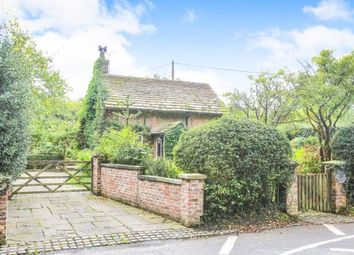 Thumbnail 2 bed detached house for sale in School Lane, Over Alderley, Macclesfield, Cheshire