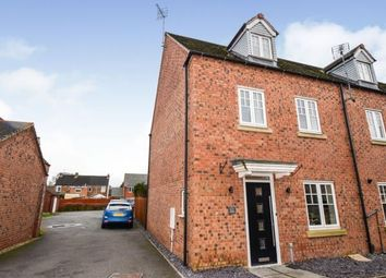 4 bed end terrace house for sale in Attenborough Close, Wigston, Leicester, Leicestershire LE18