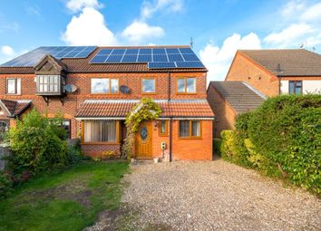 Thumbnail 4 bed semi-detached house for sale in Elmtree Road, Ruskington, Sleaford, Lincolnshire