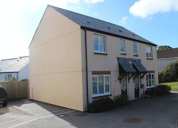 Thumbnail 3 bed semi-detached house for sale in Hilda Row, Gwithian Road, St. Austell
