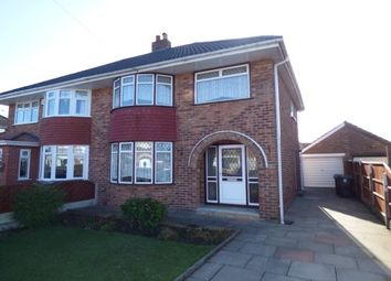 Thumbnail 3 bed semi-detached house to rent in Haweswater Grove, Maghull, Liverpool