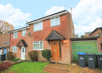 Thumbnail 3 bed semi-detached house to rent in Hallsland, Crawley Down, Crawley