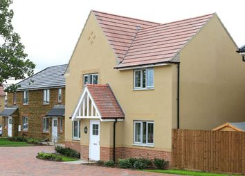 "Thumbnail 4 bed detached house for sale in ""Lincoln"" at Gretton Road, Weldon, Corby"