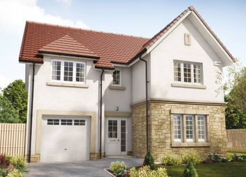 "Thumbnail 4 bed detached house for sale in ""The Colville"" at Hillview Gardens, Nivensknowe Park, Loanhead"
