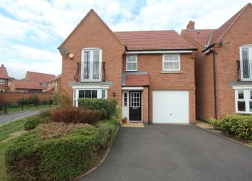 Thumbnail 4 bed detached house for sale in Columbus Lane, Earl Shilton, Leicester