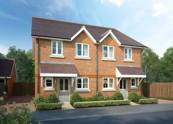 Thumbnail 2 bed semi-detached house for sale in West End, Woking, Surrey