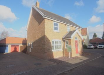 Thumbnail 4 bed detached house for sale in Mckee Drive, Tacolneston, Norwich
