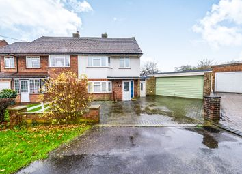 Thumbnail 3 bed semi-detached house for sale in Hammers Gate, Chiswell Green, St.Albans