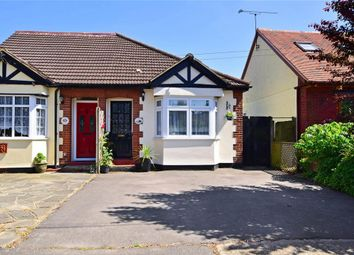 Thumbnail 3 bed semi-detached bungalow for sale in Blackmore Road, Kelvedon Hatch, Brentwood, Essex