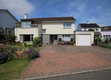 Thumbnail 5 bed detached house for sale in St. Giles Drive, Gonvena, Wadebridge