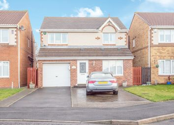 Thumbnail 3 bed detached house for sale in Holyfields, West Allotment, Newcastle Upon Tyne, Northumberland