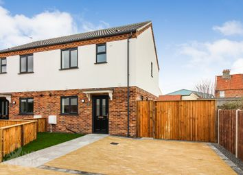 Thumbnail 3 bed semi-detached house for sale in Rumbold Close, Southtown Road, Great Yarmouth
