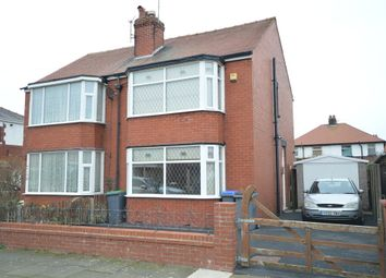 Thumbnail 2 bed semi-detached house for sale in Collyhurst Avenue, Blackpool