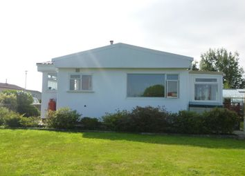 Thumbnail 2 bed bungalow for sale in Resugga Green Residential Homes Park, Resugga Green, St. Austell