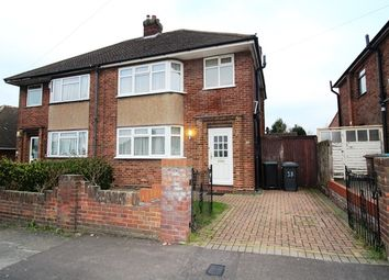 Thumbnail 3 bed semi-detached house to rent in Granby Road, Leagrave, Luton