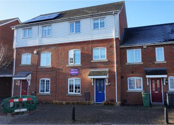 Thumbnail 4 bed terraced house for sale in Imperial Way, Ashford