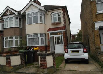 Thumbnail 3 bed semi-detached house to rent in Saville Road, Romford