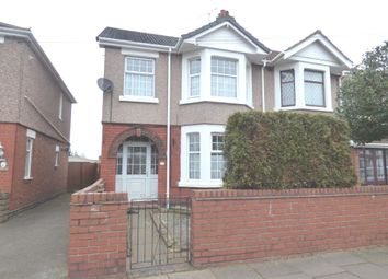 Thumbnail 3 bed semi-detached house for sale in Rotherham Road, Coventry