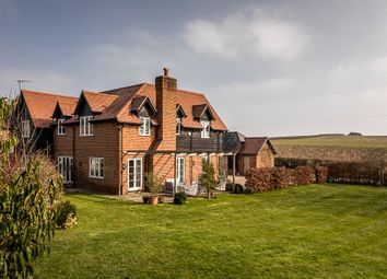 Rownest Wood Lane, Woodmancott, Winchester, Hampshire SO21. 5 bed detached house for sale
