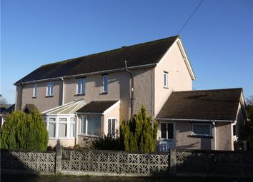 Thumbnail 3 bed semi-detached house for sale in Loretto Road, Axminster, Devon