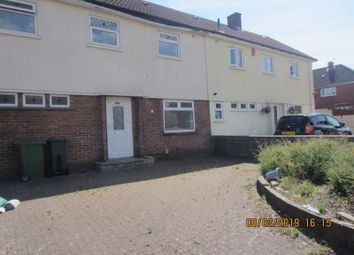 Thumbnail 3 bedroom terraced house to rent in Heol Trelai, Ely, Cardiff