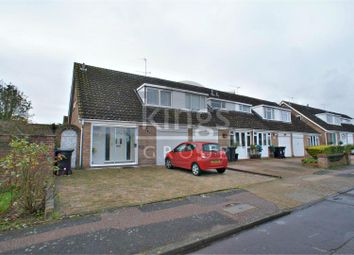 Thumbnail 3 bedroom semi-detached house for sale in Rochford Avenue, Waltham Abbey