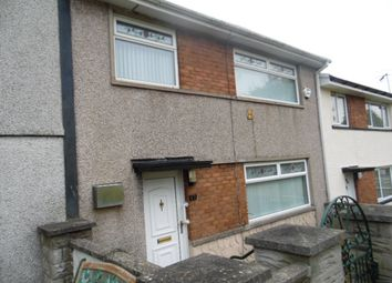 Thumbnail 3 bed terraced house to rent in Gurnos Road, Gurnos, Merthyr Tydfil