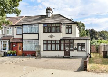 Thumbnail 3 bed end terrace house for sale in Crow Lane, Romford