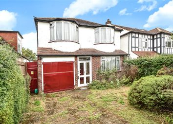 Thumbnail 4 bed detached house for sale in Pinner Hill Road, Pinner