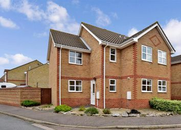 Thumbnail 3 bed semi-detached house for sale in Bamford Way, Deal, Kent