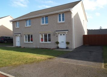 Thumbnail 3 bed semi-detached house for sale in Doocot Court, Elgin