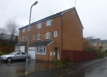 Thumbnail 3 bed town house to rent in Honeychurch Close, Redditch