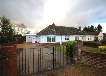 Thumbnail 4 bed semi-detached bungalow for sale in Folgate Lane, Costessey, Norwich