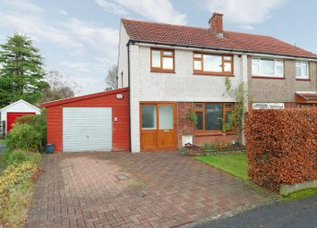 Thumbnail 3 bed semi-detached house for sale in Darnley Crescent, Bishopbriggs, East Dunbartonshire