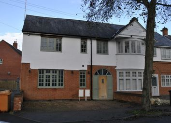 Thumbnail 2 bed semi-detached house for sale in Knighton Church Road, Leicester