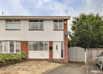 Thumbnail 3 bed semi-detached house for sale in Neston Drive, Cinderhill, Nottinghamshire
