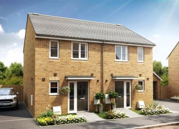 Thumbnail 2 bed semi-detached house for sale in Longcot View, Shrivenham, Oxfordshire