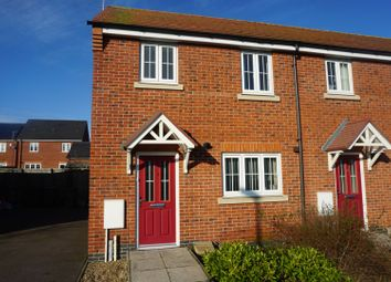 Thumbnail 3 bed end terrace house for sale in Barr Close, Leicester