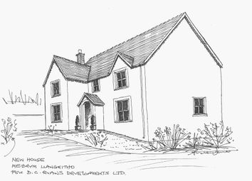 Thumbnail Detached house for sale in Adjacent To Meidrym, Llangeitho, Tregaron, Ceredigion