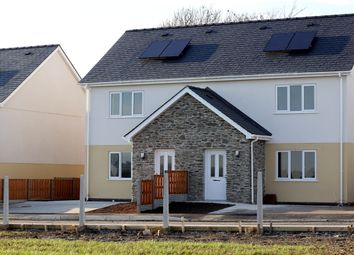Thumbnail 3 bed semi-detached house to rent in Yr Hen Ysgol, Llanddeusant