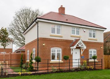 "Thumbnail 3 bed detached house for sale in ""Elmley"" at Hinckley Road, Sapcote, Leicester"