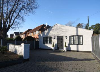 Thumbnail 4 bed detached bungalow for sale in Lynch Green, Hethersett, Norwich