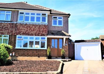 Thumbnail 3 bed semi-detached house for sale in Beechwood Close, Waltham Cross