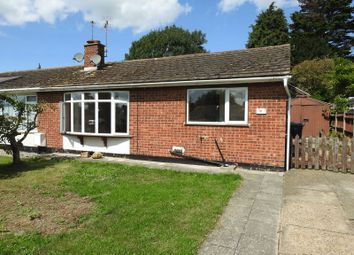 Thumbnail 2 bed semi-detached bungalow for sale in Woodlands Avenue, Carlton Colville, Lowestoft