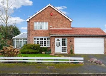 Thumbnail 3 bed detached house for sale in Brooklands Close, Collingham, Newark, Nottinghamshire