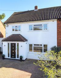 Thumbnail 3 bed semi-detached house for sale in Cranbrook Drive, Esher, Surrey